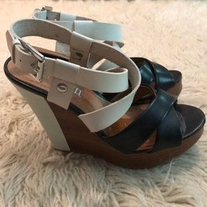 Aldo platform wedge sandals